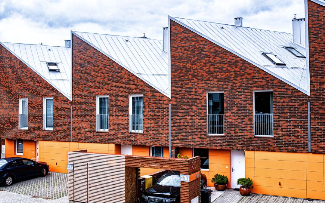 Osiedle domów jednorodzinnych w Koszalinie ulica Ruszczyca